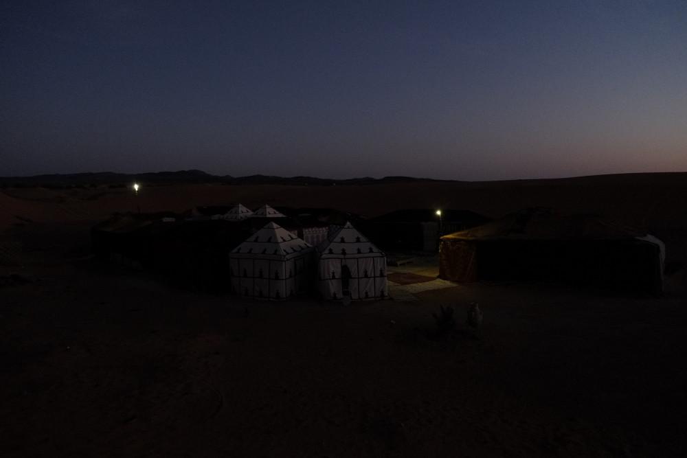 サハラ砂漠キャンプ