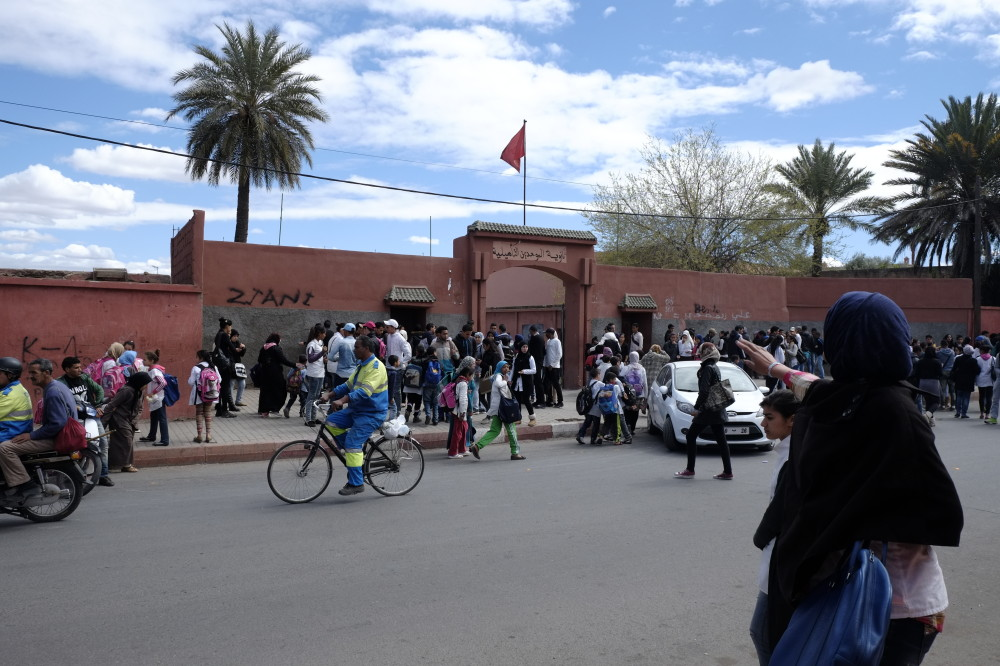 マラケシュの学校