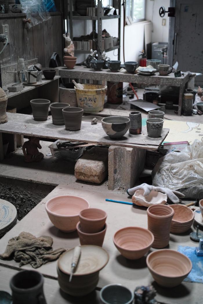 陶芸スタジオ