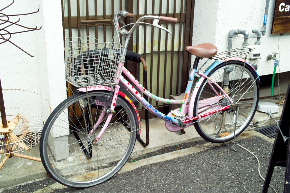 個性的自転車