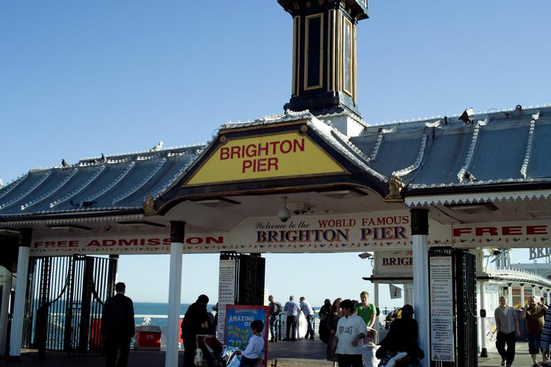 world famous brighton pier